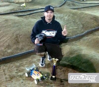 Frank Root wins JBRL Electric Rd5