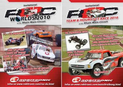 Robitronic ROC SCT Endurance & Worlds 2010 races