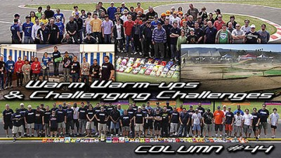 Xray Column - Warm ups & Challenging challenges