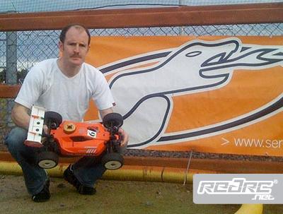 Derek McCloskey joins Serpent off road team