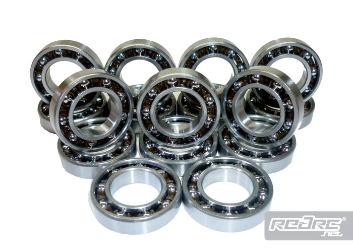 Bearings red rc rc car news for Brushless motor ceramic bearings