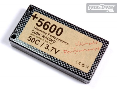 Cube Racing 50C Competition LiPo packs