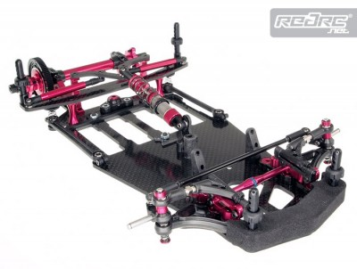 T.O.P. Rebel 12 1/12th scale chassis