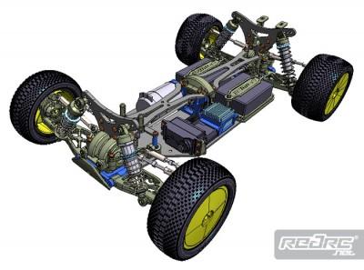 Tamiya TRF502X 4wd shaft driven buggy