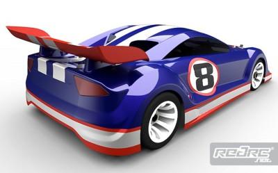 Motonica 1/8th Gran Turismo body