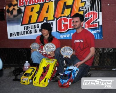Diaz & Palazzola win Paris Memorial Race