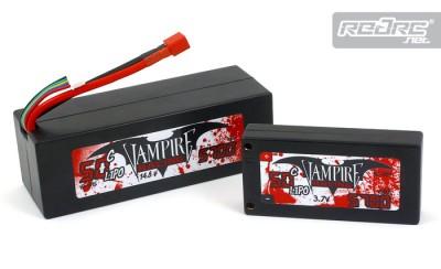 Vampire Racing 1S & 4S LiPo packs
