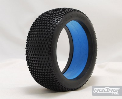 Sweep Square Armor tire & Truggy dish wheel