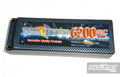 Team-Powers 6200mAh 60C LiPo pack
