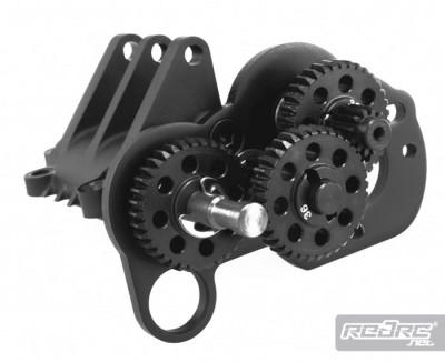 Axial XR10 Machined gears & titanium gear shafts