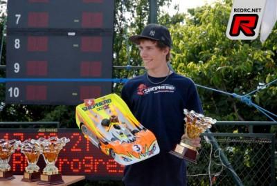 Shepherd retains Simon Kurzbuch for 2011