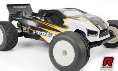 Pro-Line T4.1 Bulldog shell & 1/10 Closed cell inserts