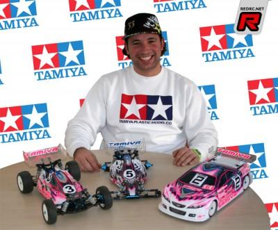 Marc Rheinard extends deal with Tamiya