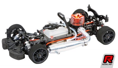 Serpent 733 Evo 1/10th 200mm chassis