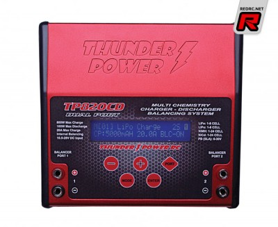 Thunder Power RC TP820CD charger/discharger