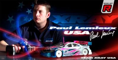 Paul Lemieux extends Xray contract thru 2012