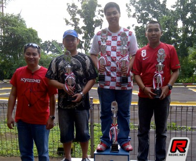 Bowie Ginting wins Jakarta GP series Rd1