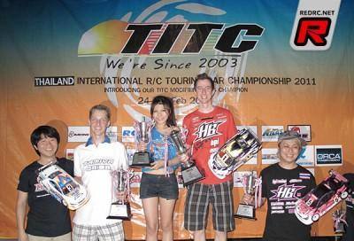 Andy Moore dominates 2011 TITC