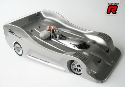 Xceed GT-C5 1/8 scale body-shell