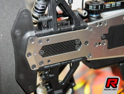 Xray NT1 Chassis with standard carbon inserts
