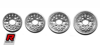CRC Spur gears, top plate & camber gauges