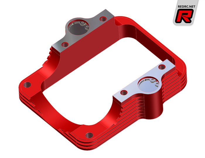 Red Rc Rc Car News Capricorn Anti Vibration Engine Mount