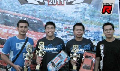 Bowie Ginting claims Indonesian Rd2 victory