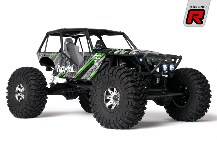 Red Rc Rc Car News 187 Axial Wraith Rtr Electric 4wd Rock