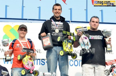 Yannick Aigoin takes Rd2 of French Nationals