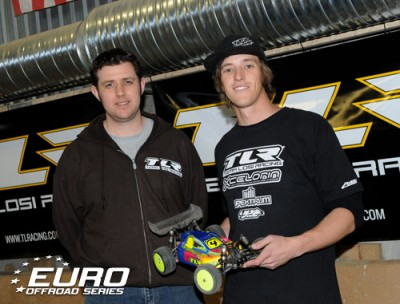 Evans takes EOS TQ honours in 4WD Buggy