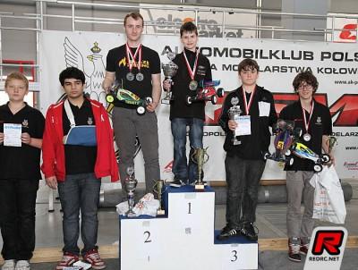 Orlowski & Okonski win Polish Indoor offroad champs