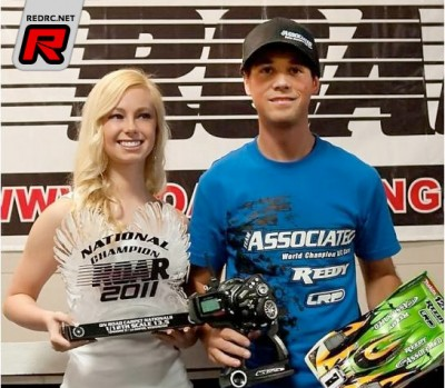 Keven Hébert wins ROAR 1/12th 13.5 Nationals