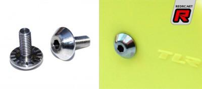 Exotek HB shock posts & TLR 22 wheel bolts
