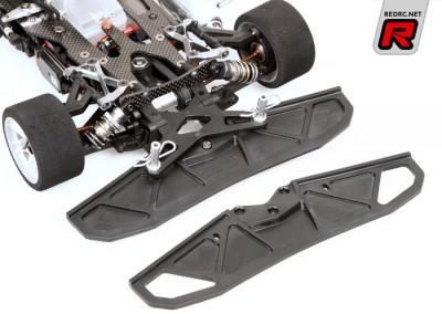 Serpent 966 aerodynamic front bumper