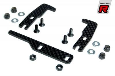 Exotek T3'11 adjustable carbon fibre LiPo brackets