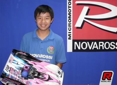 JJ Wang signs to Novarossi