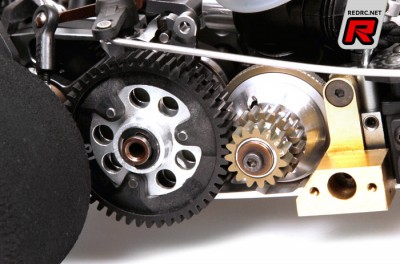 Serpent 966 super-light gearbox