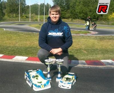 Adrian Bernsten dominates Rd2 of Swedish Nats