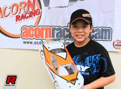 Acorn Racing sign Dominic Quek