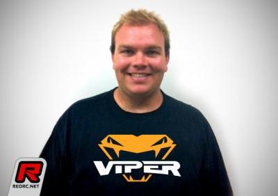 Billy Fischer team manager at Team Viper