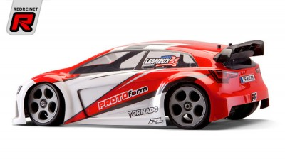 Protoform Tornado RallyCross 1/16th body