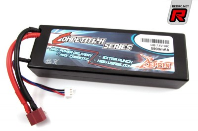 Zeppin Racing LiPo packs