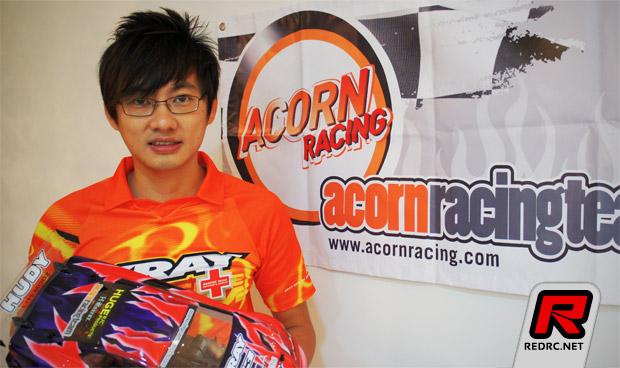 Acorn Racing sign P.Y. Tang
