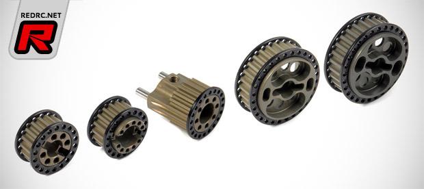 Xray RX8 aluminum pulleys