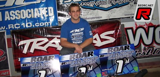 Steven Hartson triple at ROAR Region 12