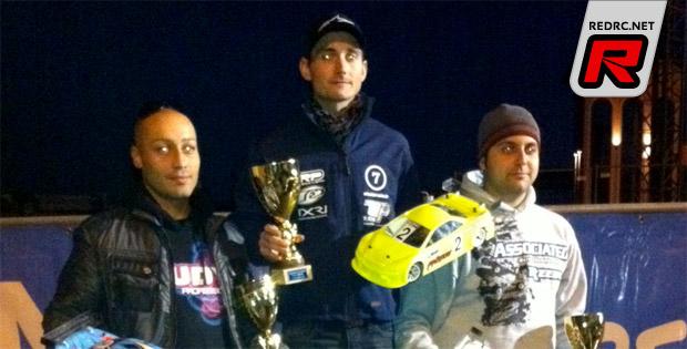 Steven Weiss wins Trofeo Genitin race