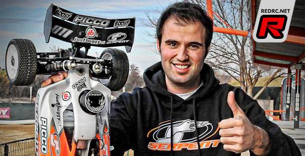 Riccardo Acciari to race for Team Serpent