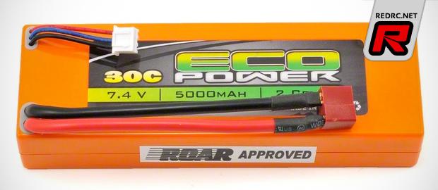 EcoPower 5000mAh 30C hard case LiPo