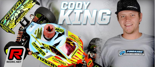 Pro-Line sign WC Cody King