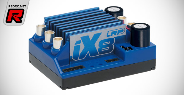LRP iX8 updated version & Dynamic 8 motor